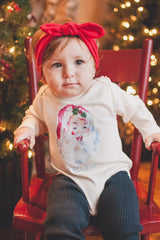 I Believe, Santa Claus, Baby, Boy, Girl, Unisex, Gender Neutral, Infant, Toddler, Newborn, Organic, Bodysuit, Outfit, One Piece, Onesie®, Onsie®, Tee, Layette, Onezie®