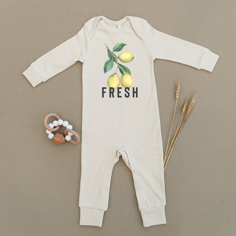 Lemon Fresh Organic Baby Playsuit
