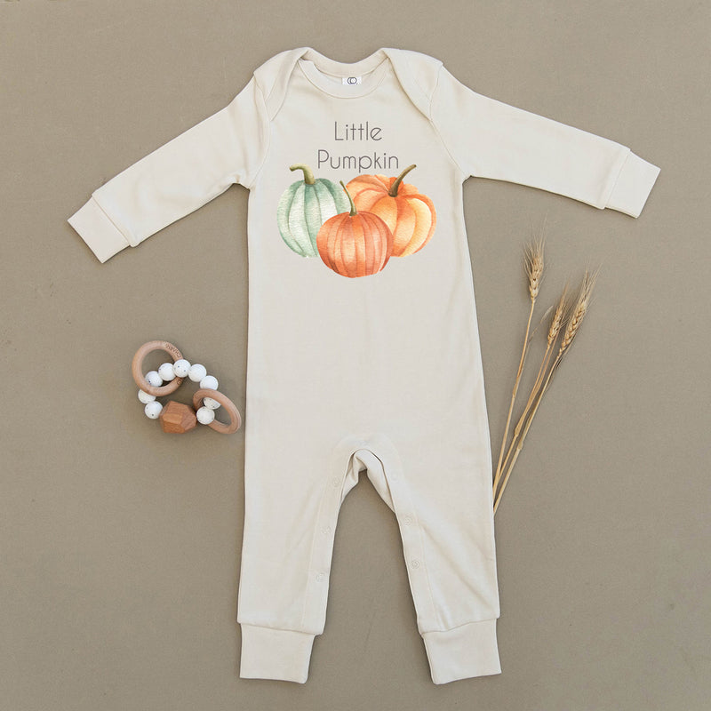 Little Pumpkin Organic Baby Playsuit
