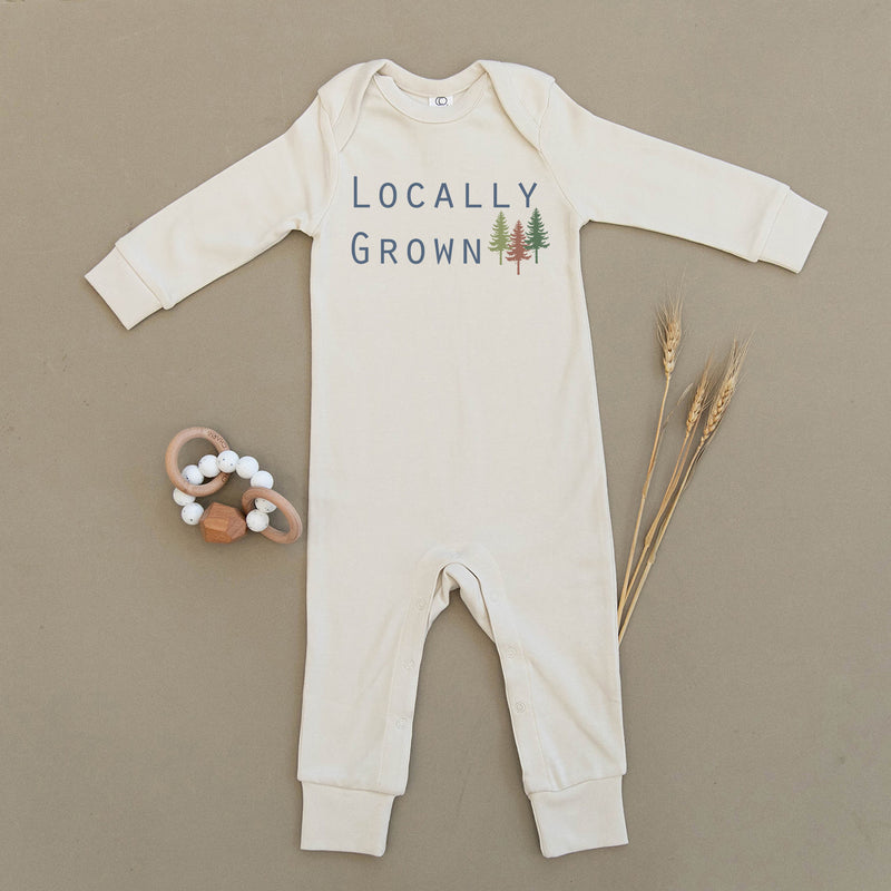 Locally Grown Organic Baby Playsuit