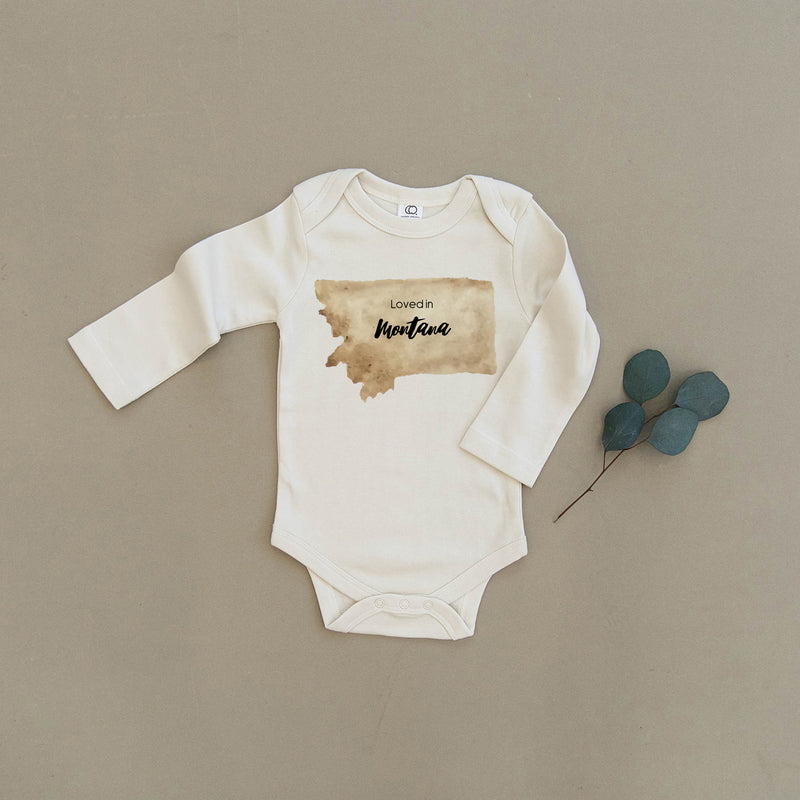 Loved in Montana Organic Baby Onesie®
