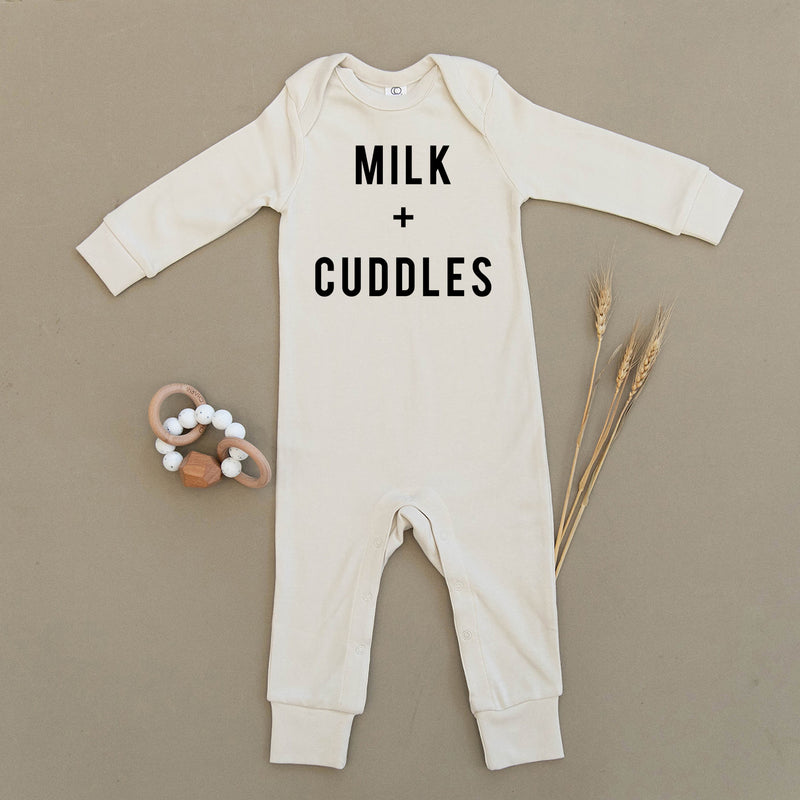 Milk & Cuddles Organic Baby Playsuit