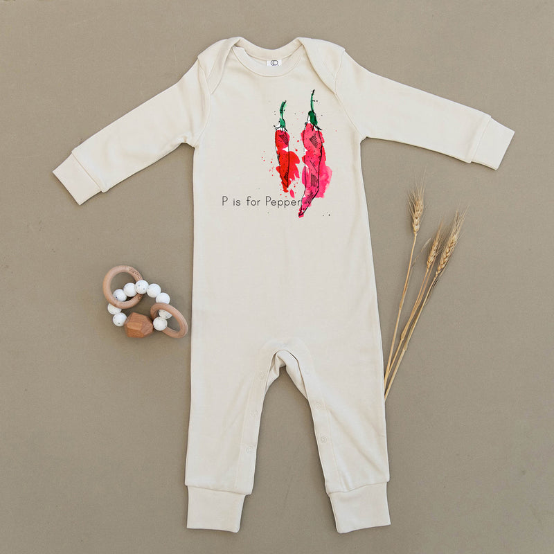 P is for Pepper Organic Baby Playsuit