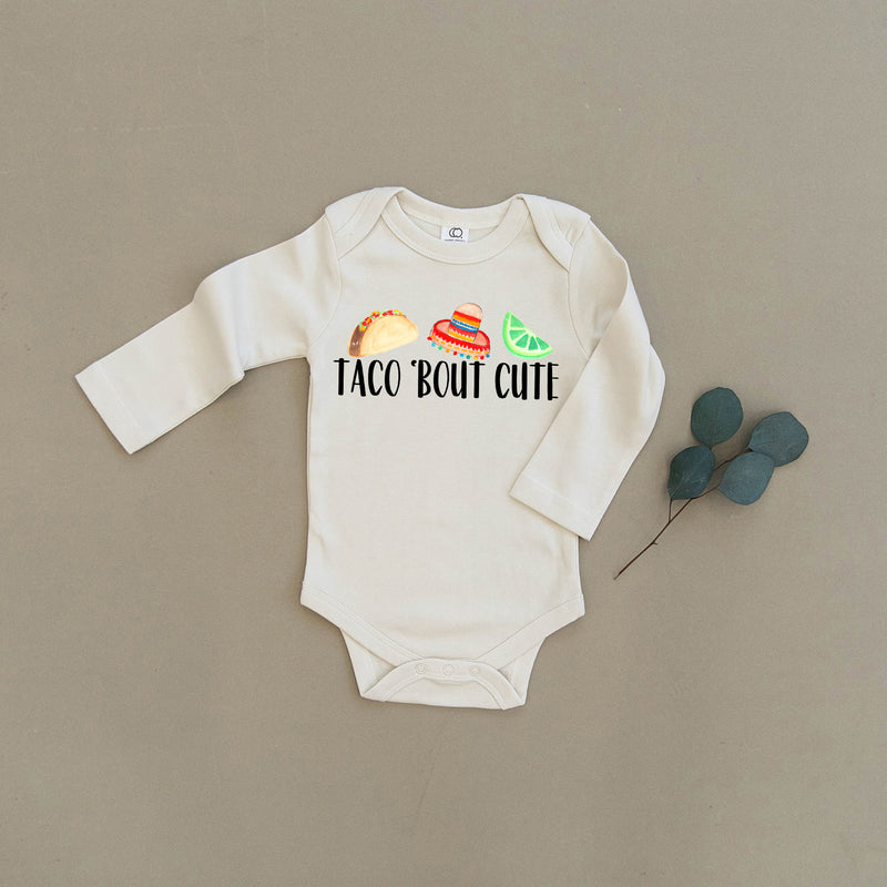Taco 'Bout Cute Organic Baby Onesie®