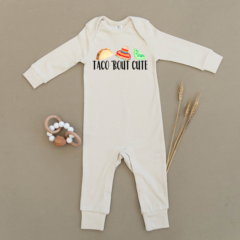Taco 'Bout Cute Organic Baby Playsuit