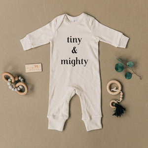 Tiny & Mighty Organic Baby Playsuit Romper