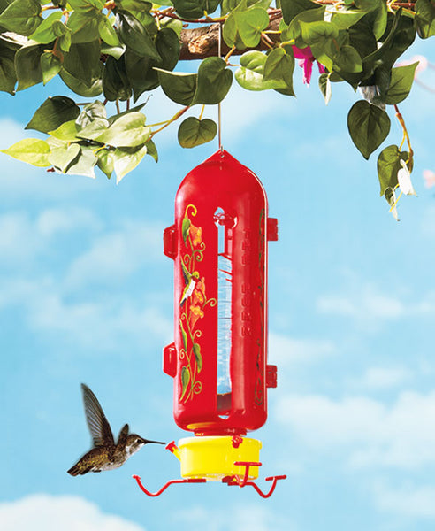 Plastic Bottle Humm Hummingbird Feeder