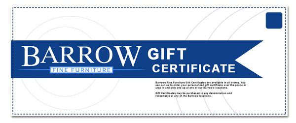 Barrow Fine Furniture Gift Cards Available Now!