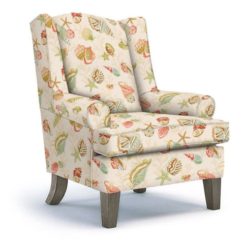 Amelia Wingback Chair by Best Home Furnishings