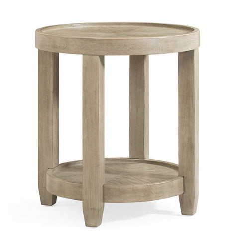 Bellamy Round End Table by Bassett Mirror Company