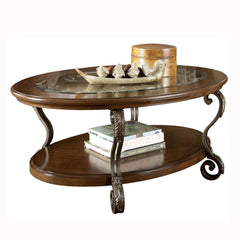 Nestor Oval Cocktail Table by Signature Design by Ashley