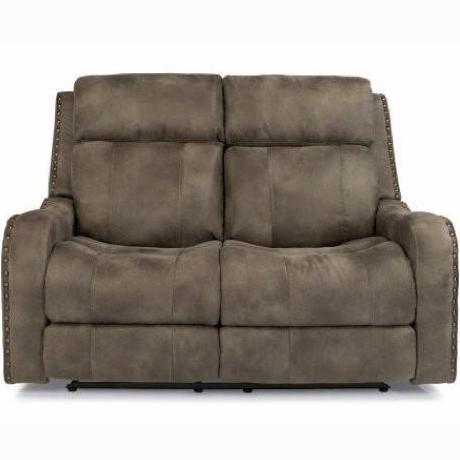 Springfield Power Reclining Loveseat with Headrest by Flexsteel