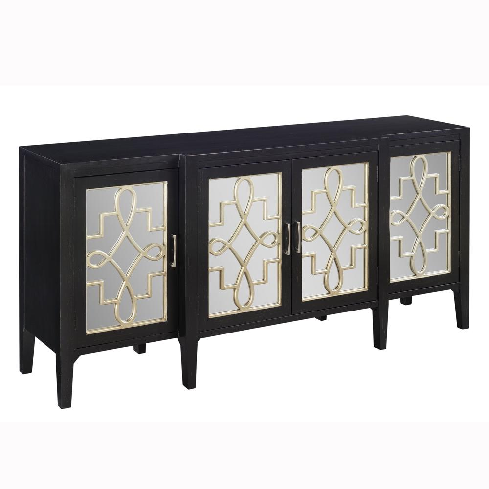 4-Door Credenza by Coast to Coast Imports
