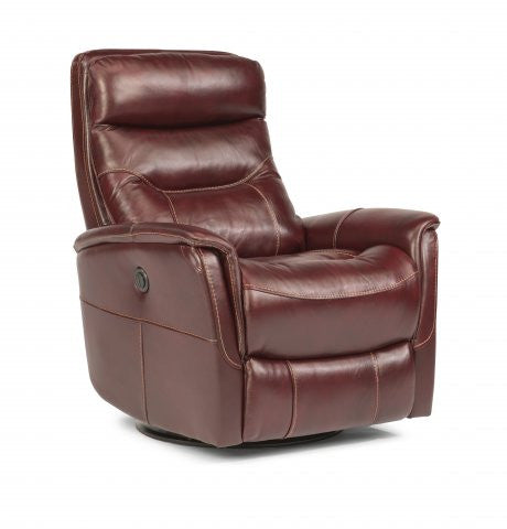 Alden King Swivel Recliner By Flexsteel Barrow Fine Furniture