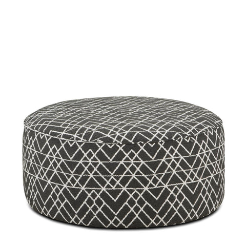 140 Hyphen Onyx Cocktail Ottoman by Fusion Furniture Inc