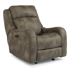 Springfield Power Recliner with Headrest by Flexsteel