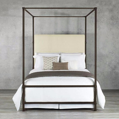 Quincy King Canopy Bed by Wesley Allen