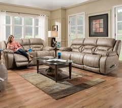 158 Power Reclining Sofa by HomeStretch