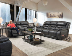 178 Double Reclining Power Sofa by HomeStretch