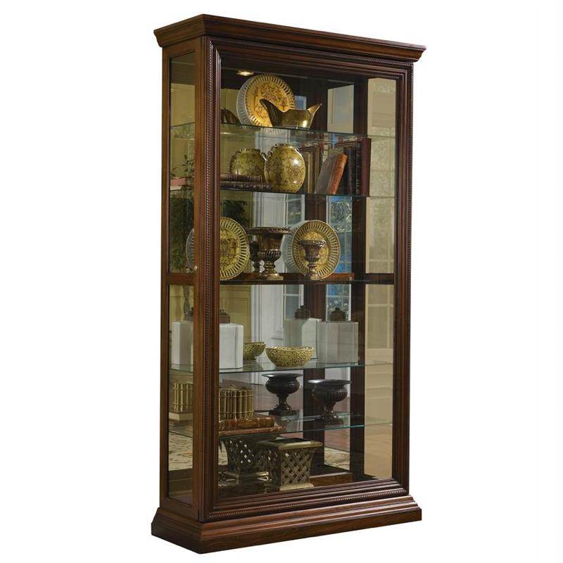Two Way Sliding Door Curio by Pulaski