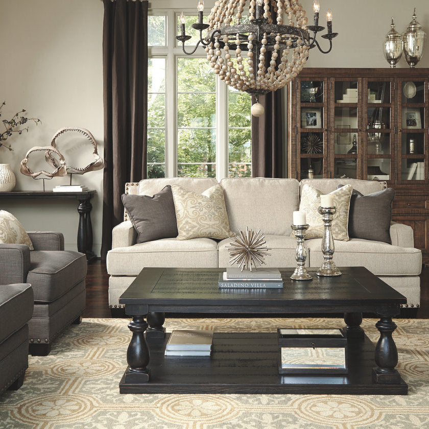 Mallacar Coffee Table By Signature Design By Ashley Barrow Fine - Ashley mallacar coffee table