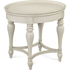 Sanibel Oval End Table by Bassett Mirror Company