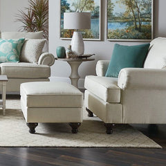 Marietta Ottoman by Bassett Furniture