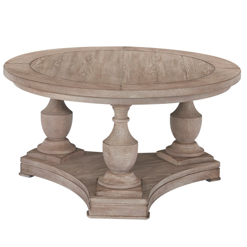 Laurel Round Cocktail Table by Bassett Mirror Company
