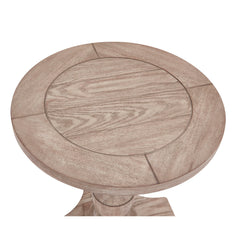Laurel Round End Table by Bassett Mirror Company