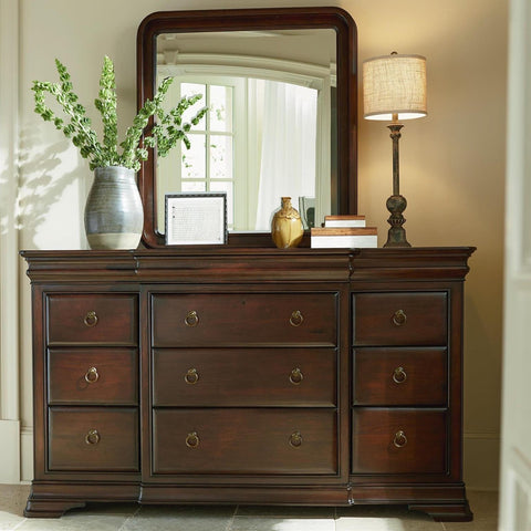 Reprise Dresser and Mirror by Universal