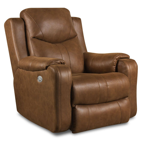 Marvel Power Recliner with Headrest by Southern Motion