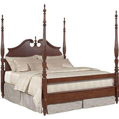 Hadleigh Rice Carved Queen Bed by Kincaid