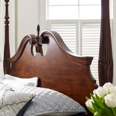 Hadleigh Rice Carved King Bed by Kincaid