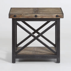 Carpenter End Table by Flexsteel