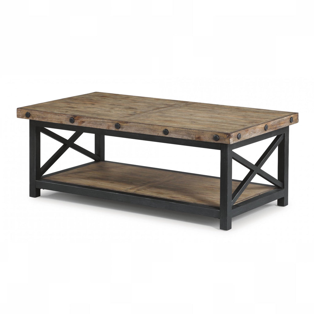 Carpenter Rectangular Coffee Table by Flexsteel