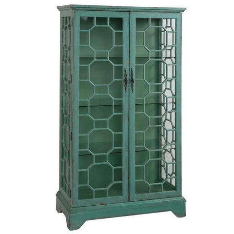 2 Door Curio Cabinet by Coast to Coast Imports