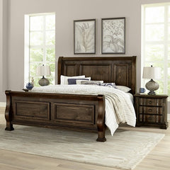 Rustic Hills King Bed by Vaughan-Bassett