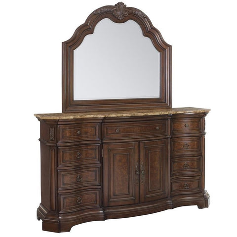 Edington Dresser and Mirror by Samuel Lawrence