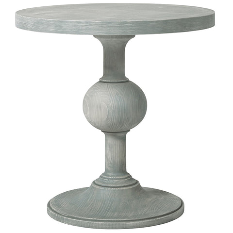 Coastal Living Round Pedestal End Table by Universal