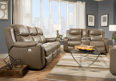 Marvel Power Reclining Living Room Set by Southern Motion