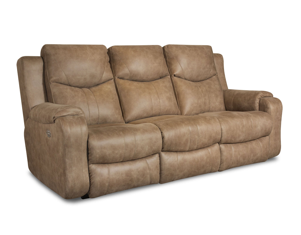 Marvel Power Reclining Sofa with Headrest by Southern Motion