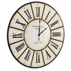 Village Wall Clock by Magnolia Home