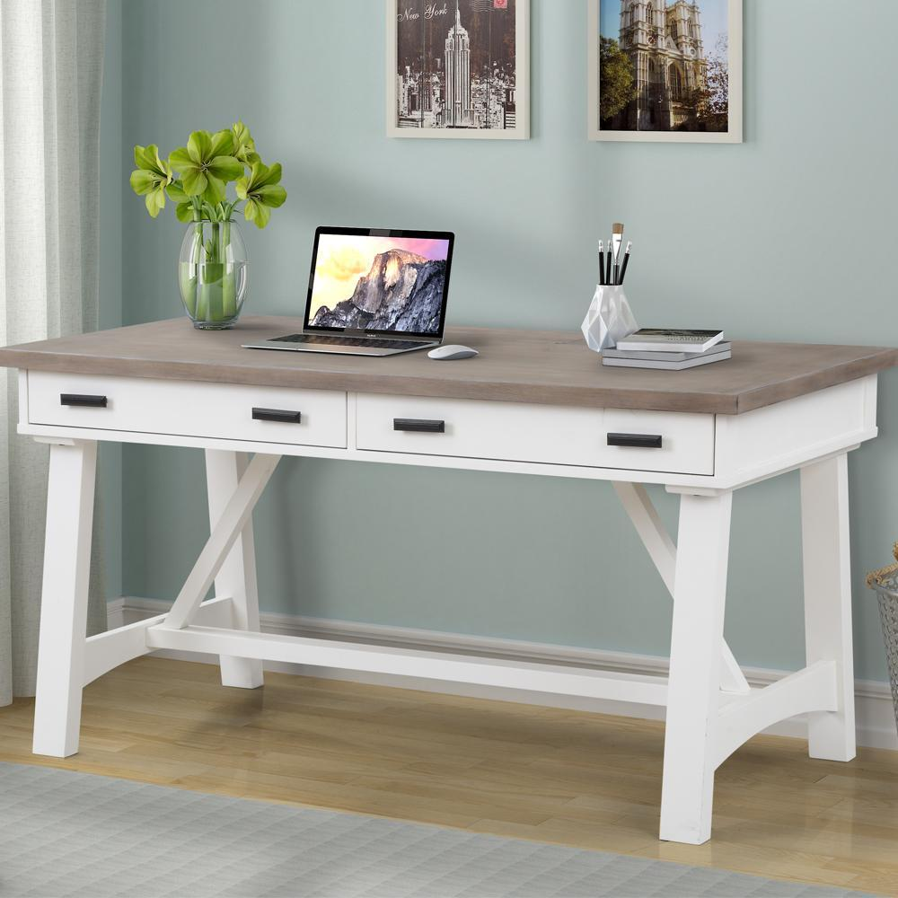 Americana Modern Cotton Writing Desk by Parker House