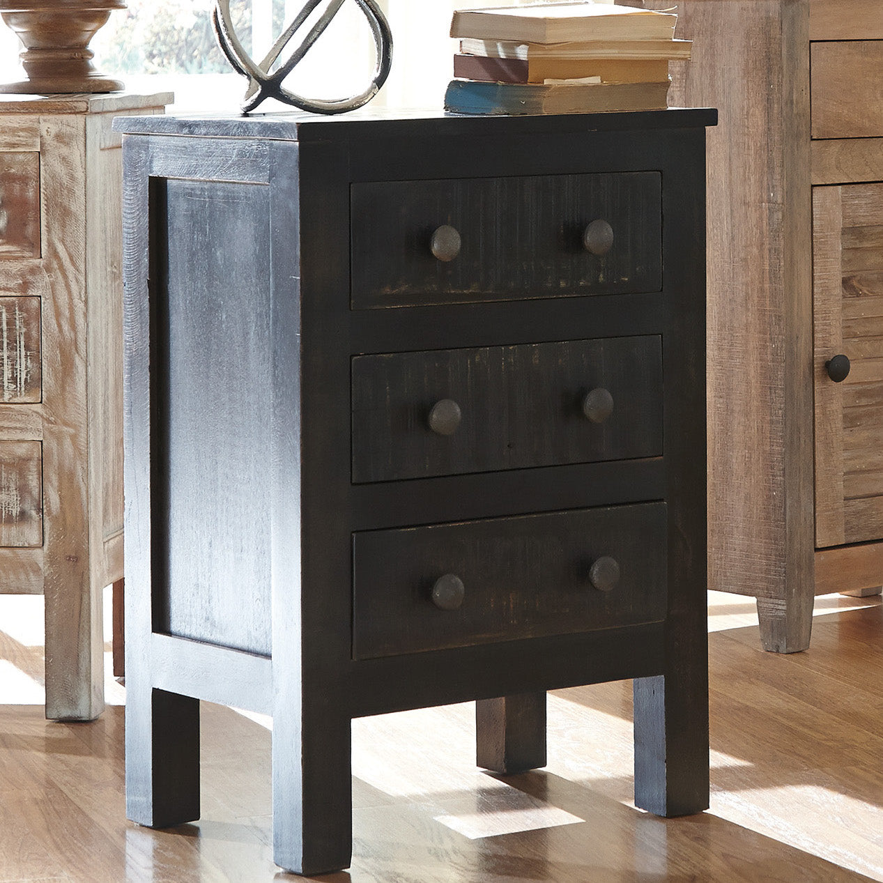 Charlowe 3 Drawer Nightstand By Signature Design By Ashley Barrow