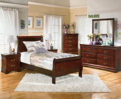 Alisdair Twin Sleigh Bed by Signature Design by Ashley