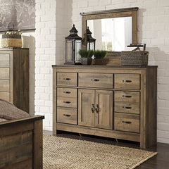 Trinell Youth Dresser and Mirror by Signature Design by Ashley
