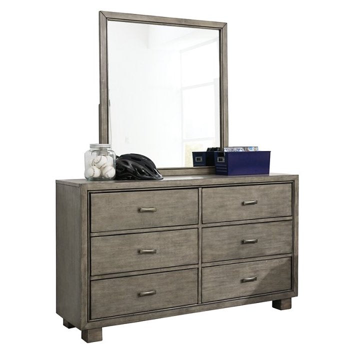Arnett Youth Dresser and Mirror by Signature Design by Ashley