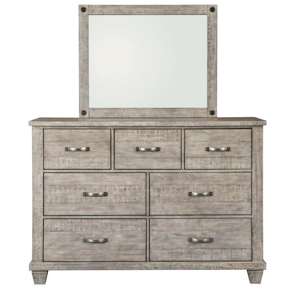 Naydell Dresser and Mirror by Signature Design by Ashley