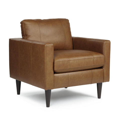 Trafton Leather Match Chair by Best Home Furnishings