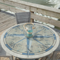Coastal Classics 5-Piece Pedestal Dinette by John Thomas Furniture